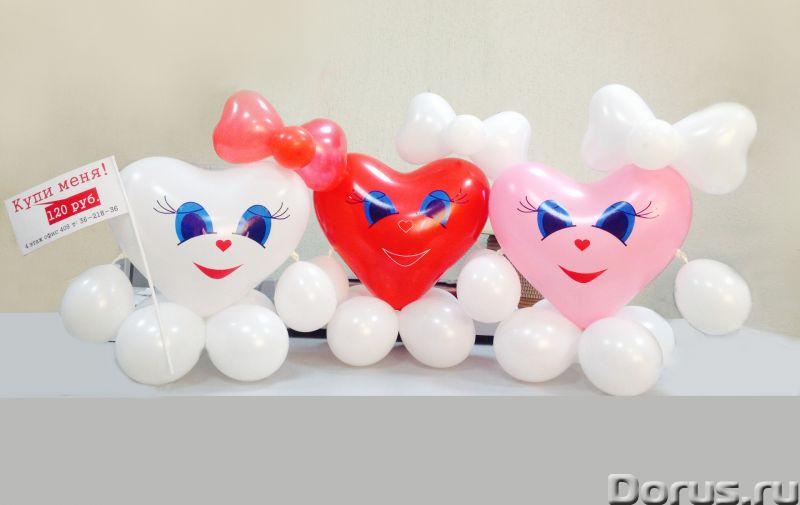 Фигуры из шаров - Организация праздников - Занятные фигуры из шаров для взрослых и детей - город Нов..., фото 1
