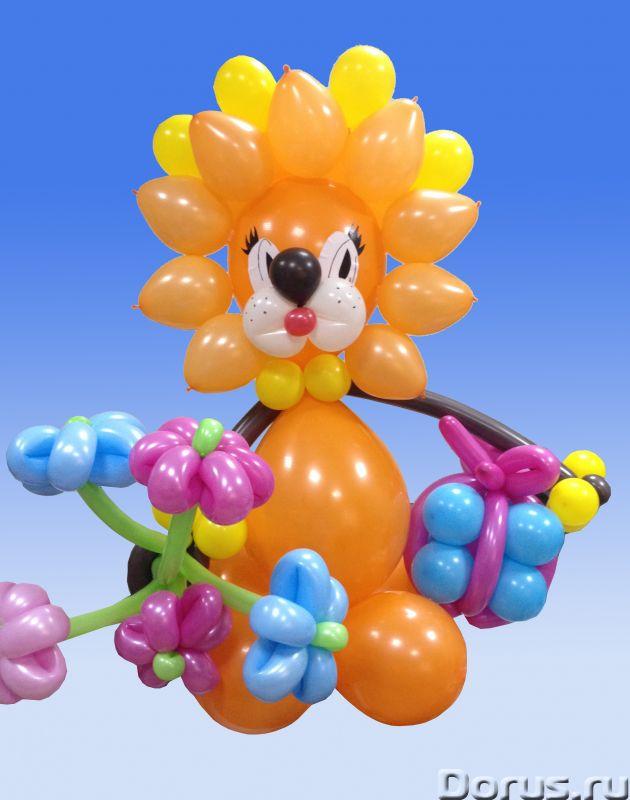 Фигуры из шаров - Организация праздников - Занятные фигуры из шаров для взрослых и детей - город Нов..., фото 2