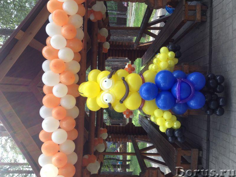 Фигуры из шаров - Организация праздников - Занятные фигуры из шаров для взрослых и детей - город Нов..., фото 4