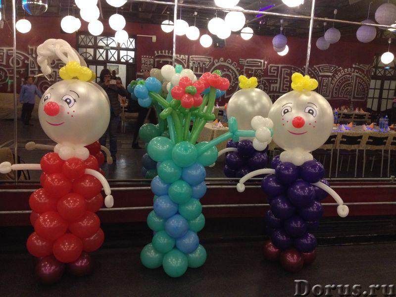 Фигуры из шаров - Организация праздников - Занятные фигуры из шаров для взрослых и детей - город Нов..., фото 6