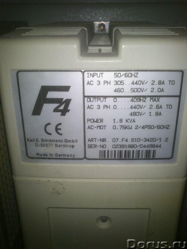 Преобразователи частоты - Промышленное оборудование - Преобразователь частоты KEB F4 -S с входным др..., фото 2