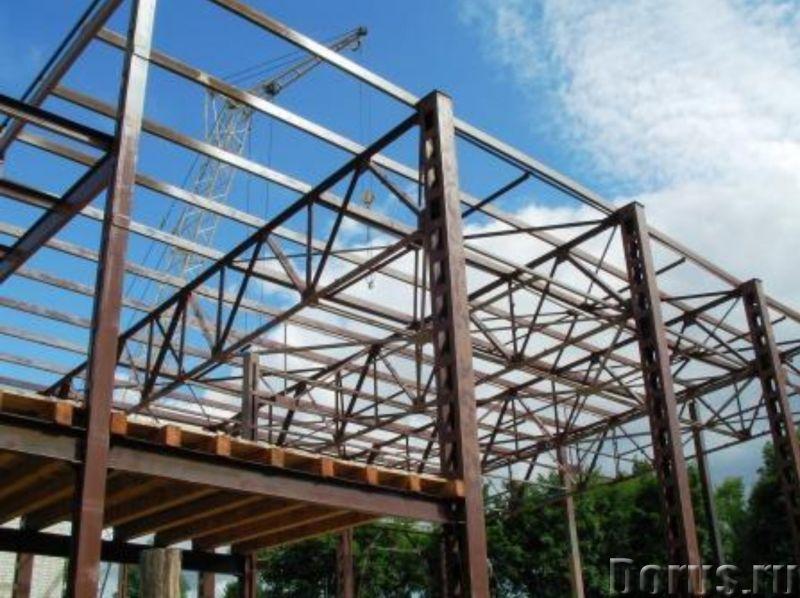 Монтаж металлоконструкций - Строительные услуги - Наша компания осуществит работы изготовлению и пос..., фото 1