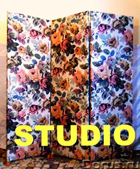 """Ширма """"Студио"""" складная перегородка, screen Folder - Прочая мебель - Ширма Студио складная перегород..., фото 2"""