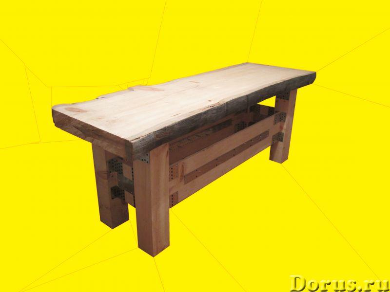 Стол в стиле Лофт из кедра - Мебель для дома - Продам Стол в стиле Лофт Сделан полностью из кедра Ра..., фото 1