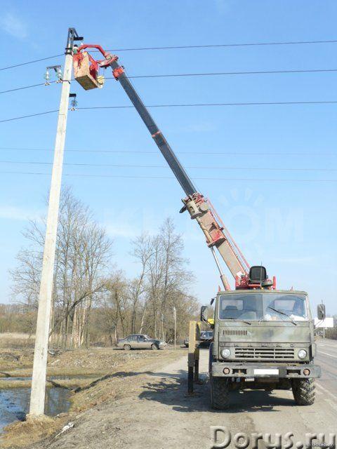 Монтаж опор. Прокладка кабеля - Строительные услуги - Предлагаем свои услуги в сфере электромонтажны..., фото 1