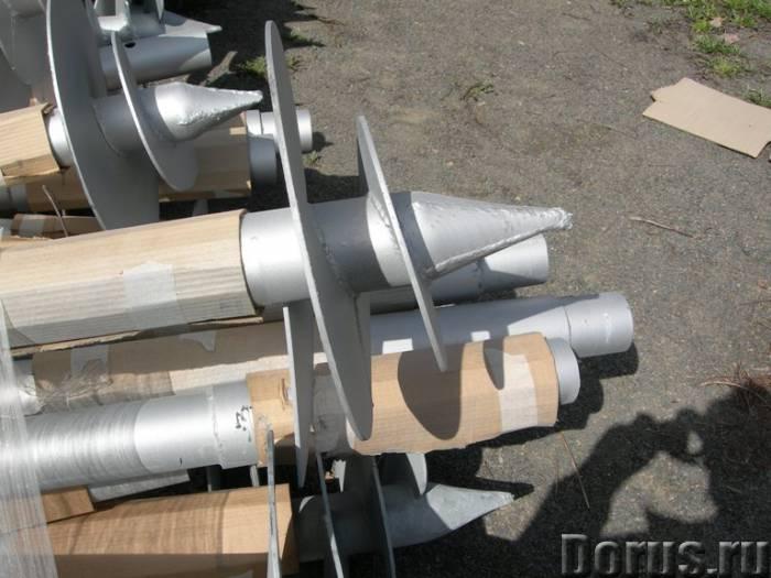 Винтовые сваи - Материалы для строительства - Винтовые сваи для изготовления заборов, ограждений, фу..., фото 1