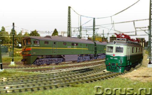 Изготовление действующих железнодорожных макетов - Искусство и коллекционирование - Модель железной..., фото 1