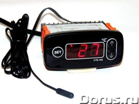 Терморегулятор цифровой СТЕ-102 для омшаников, погребов, теплиц… - Товары промышленного назначения -..., фото 1