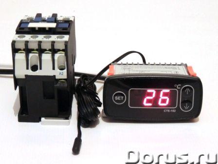 Терморегулятор цифровой СТЕ-102 для омшаников, погребов, теплиц… - Товары промышленного назначения -..., фото 2