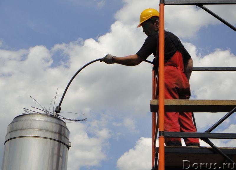 Очистка системы вентиляции, прочистка дымоходов, дезинфекция воздуховодов - Уборка и дератизация - П..., фото 2